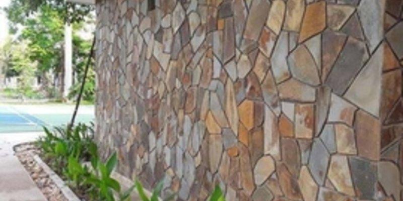 Đá tự nhiên rối vàng Lai Châu đa sắc ứng dụng trong các công trình kiến trúc