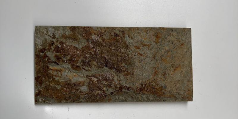 Đá slate vàng Đà Nẵng 10x20cm ốp tường trang trí giá rẻ nhất tại Hà Đông Hà Nội