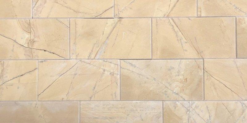 Đá chà cát vàng vát cạnh 10x20cm ốp tường trang trí nội ngoại thất giá rẻ khu vực Hà Đông, Hà Nội