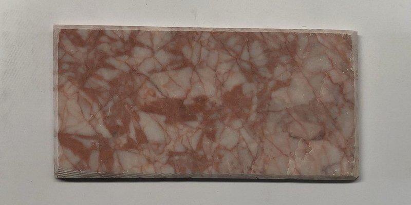 Đá chà cát đỏ vát cạnh 10x20cm-đá tự nhiên ốp tường cho gia chủ mệnh hỏa