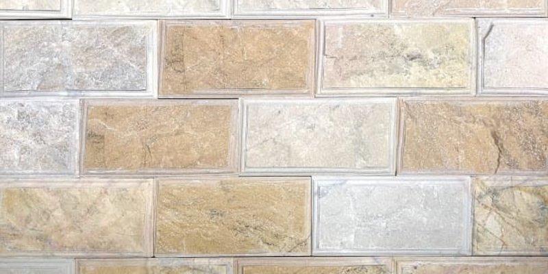 Đá tự nhiên bóc vàng soi cạnh và ứng dụng trong ốp tường trang trí nội ngoại thất