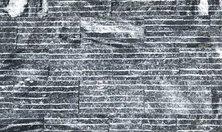 Đá tự nhiên ốp tường ngoại thất độc đáo-đá chẻ sóng đen 10x20cm