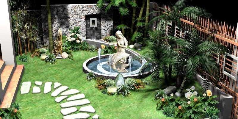 10 ý tưởng cải tạo sân vườn đẹp