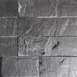 Đá tự nhiên slate xanh đen kt 10x20cm