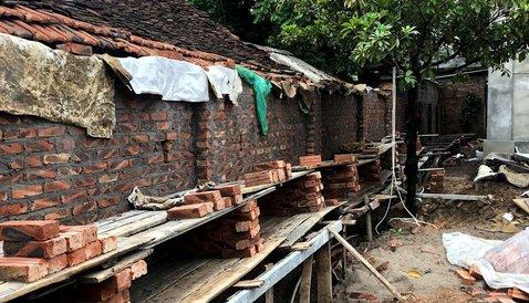 Dự án trang trí tường nhà của anh Tĩnh, Chúc Sơn