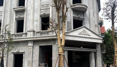 Công trình căn biệt thự nhà anh Dũng – Hòa Bình