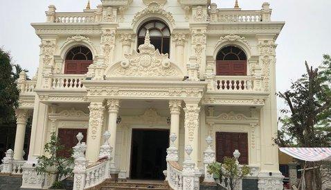Cung cấp đá ốp trang trí cho ngôi nhà như lâu đài